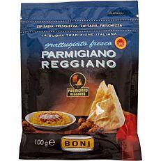 Τυρί BONI παρμεζάνα reggiano τριμμένη (100g)