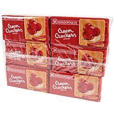 Κράκερ ΠΑΠΑΔΟΠΟΥΛΟΥ cream crackers σίτου (6x140g)