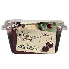 Γλυκό του κουταλιού ΟΙΚΟΓΕΝΕΙΑ ΧΑΛΒΑΤΖΗ βύσσινο (500g)