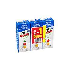 Κρέμα γάλακτος ADORO 35% λιπαρά 2+1 ΔΩΡΟ (3x200ml)