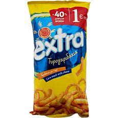 Τυρογαριδάκια EXTRA 40% ΔΩΡΕΑΝ προϊόν (130g)