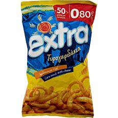 Τυρογαριδάκια EXTRA 50% ΔΩΡΕΑΝ προϊόν (90g)