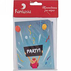 Προσκλήσεις πάρτυ (10τεμ.)