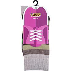 Κάλτσες BIC Amelia γυναικείες μεικτές C (2τεμ.)