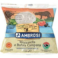 Τυρί AMBROSI mozzarella buffalo (125g)