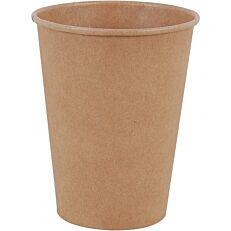 Ποτήρια χάρτινα κραφτ 12oz (50τεμ.)
