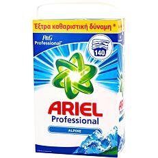 Απορρυπαντικό ARIEL ALPINE πλυντηρίου ρούχων, σε σκόνη (140μεζ.)