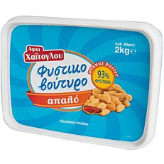 Φυστικοβούτυρο ΑΦΟΙ ΧΑΪΤΟΓΛΟΥ απαλό (2kg)