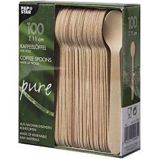 Κουταλάκια ξύλινα 11cm (100τεμ.)