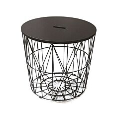 Coffee table αλουμινίου 48x48x48cm