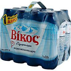 Νερό ΒΙΚΟΣ φυσικό μεταλλικό (11+1 δώρο) (12x500ml)