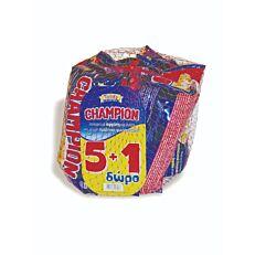 Κρουασάν CHAMPION με γέμιση πραλίνα φουντουκιού 5+1 ΔΩΡΟ (6x70g)