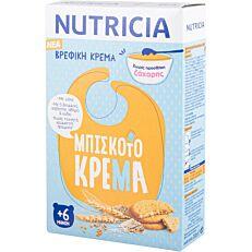Βρεφική κρέμα NUTRICIA με μπισκότο +6 μηνών (250g)