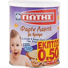 Παιδική κρέμα ΓΙΩΤΗΣ φαρίν λακτέ με βρώμη (300g)