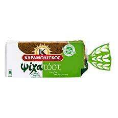 Ψωμί ΚΑΡΑΜΟΛΕΓΚΟΣ Ψίχα τοστ σίκαλης (480g)