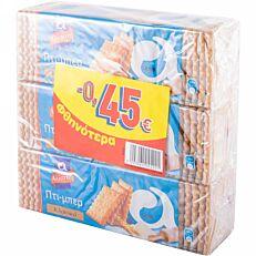 Μπισκότα ΑΛΛΑΤΙΝΗ ΠΤΙ ΜΠΕΡ κλασικά -0,45€ (225g)