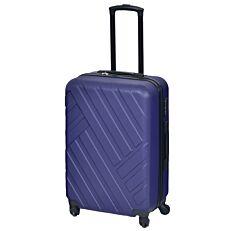 Βαλίτσα WANDA σκληρή με 4 τροχούς μπλε 77x53x34cm