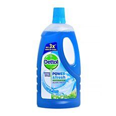 Πολυκαθαριστικό DETTOL για μεγάλες επιφάνειες με άρωμα θαλασσινή φρεσκάδα, υγρό (1lt)