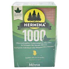 Οδοντογλυφίδες HERMINA μέντα 1-1 (1000τεμ.)