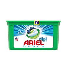 Απορρυπαντικό ARIEL All in 1 Alpine πλυντηρίου ρούχων, σε υγρές κάψουλες (40τεμ.)