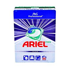 Απορρυπαντικό ARIEL 3 in 1 πλυντηρίου ρούχων, σε κάψουλες (105τεμ.)