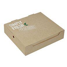 Κουτιά φαγητού GREEN ECO-FRIENDLY 22x18x5cm (25τεμ.)
