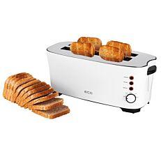 Φρυγανιέρα ψωμιού λευκή 4 θέσεων 1350W