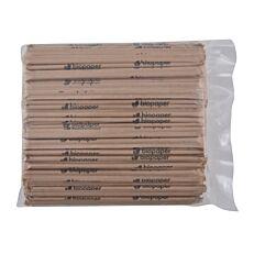 Καλαμάκια χάρτινα σπαστά 1/1 σε κραφτ 220X5,8mm (250τεμ.)