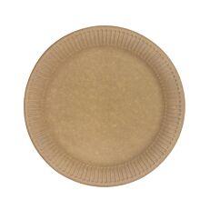 Πιάτα KRAFT μεσαία FSC (50τεμ.)