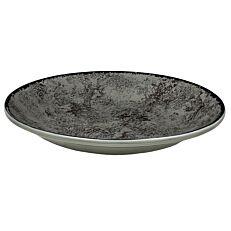Πιάτο βαθύ γκρί 23cm