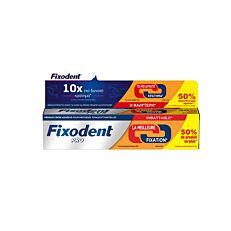 Κρέμα FIXODENT Pro Plus για δυνατό κράτημα +50% ΔΩΡΕΑΝ ΠΡΟΙΟΝ (60g)