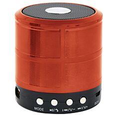 Φορητό ηχείο GEMBIRD Bluetooth 3W σε κόκκινο