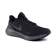 Παπούτσια NIKE αθλητικά ανδρικά REVOLUTION 5 σε μαύρο-ανθρακί Νο.42