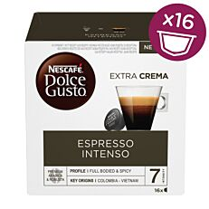 Καφές NESCAFÉ Dolce gusto espresso σε κάψουλες 16τεμ. (112g)