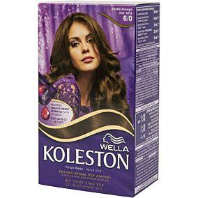 Βαφή μαλλιών WELLA Koleston ξανθό σκούρο no.6/0 με κρέμα αναζωογόνησης χρώματος (50ml)