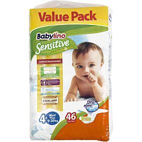 Πάνες BABYLINO Sensitive No.4+, 9-20kg (46τεμ.)