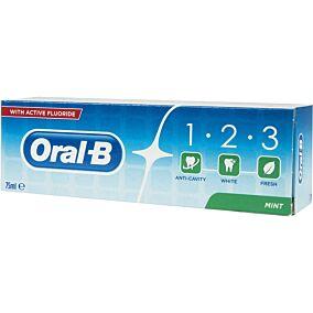 Οδοντόκρεμα ORAL B 1-2-3 (75ml)