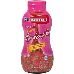 Σιρόπι ΓΙΩΤΗΣ με γεύση φράουλα (350g)