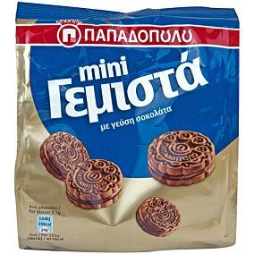 Μπισκότα ΠΑΠΑΔΟΠΟΥΛΟΥ mini γεμιστά με κακάο (90g)