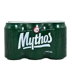 Μπύρα MYTHOS κουτί (6x330ml)