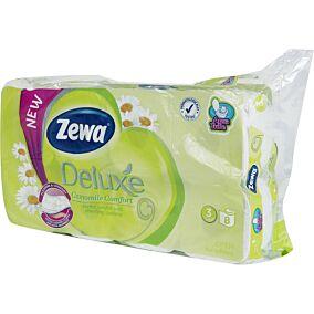 Χαρτί υγείας ZEWA Deluxe χαμομήλι (8τεμ.)