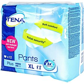 Πάνες TENA Pants plus XL (12τεμ.)