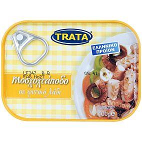 Κονσέρβα TRATA μοσχοχτάποδο σε φυτικό λάδι (100g)