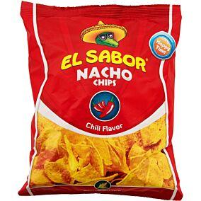 Τσιπς τορτίγια NACHO CHIPS chili (100g)
