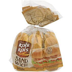 Ψωμί ΚΡΙΣ ΚΡΙΣ μπριός για σάντουιτς (6τεμ.)