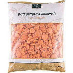 Καρότα MASTER CHEF σε φέτες γκοφρέ κατεψυγμένα (2,5kg)