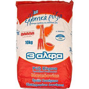 Ρύζι 3 Αλφα κίτρινο Μακεδονίας (10kg)