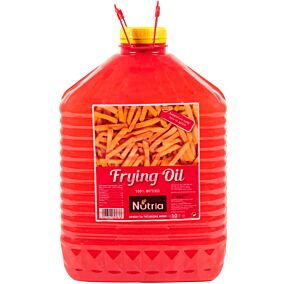 Μείγμα φυτικών ελαίων NUTRIA Frying Oil για τηγάνισμα (10lt)