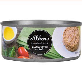 Κονσέρβα ALDORO τόνος σε λάδι (160g)