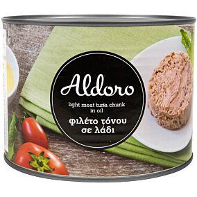 Κονσέρβα ALDORO τόνος σε λάδι (1,260kg)
